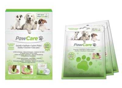 PawCare Zip Bag 100 ml - 3er Pack in einer Box – Bild 1